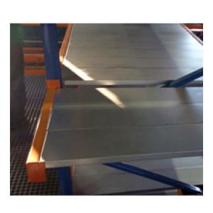 Металлические полки для стеллажей